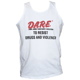 Dare To Resist Drugs And Violence Political Activist Retro T shirt Vest