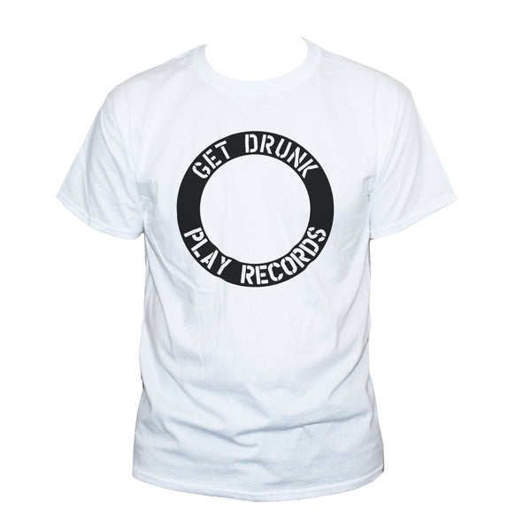 "Funny DJ ""Get Drunk Play Records"" Graphic T shirt"