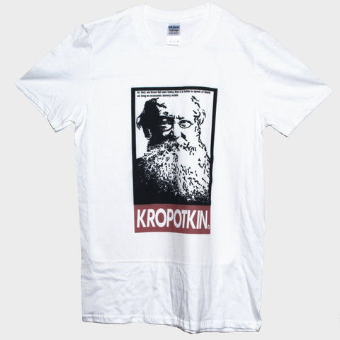 Kropotkin Russian Anarchist Economic Slavery Quote T shirt