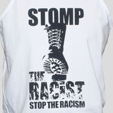 Anti Racist T shirt Political Activist Left Wing Protest T shirt Vest Close up