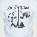 "Vegan ""No Difference"" T shirt Funny Vegetarian Animal Rights Unisex Top"
