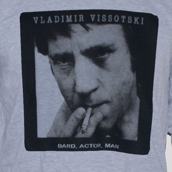 vladimir visotsky grey t shirt