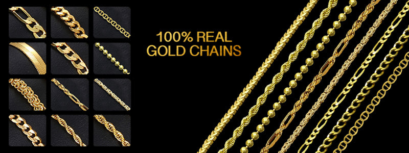Latest Jewelry Trends - 100% Gold Chains