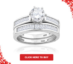 CZ Wedding Band