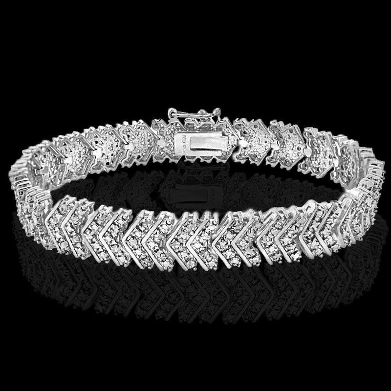 Diamond Chevron Bracelet
