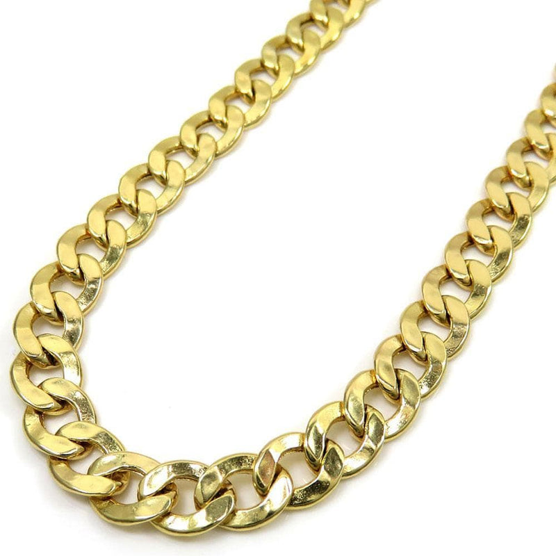 6.5MM 10K Yellow Gold Hollow Cuban Chain, Chain, Jawa Jewelers, Jawa Jewelers