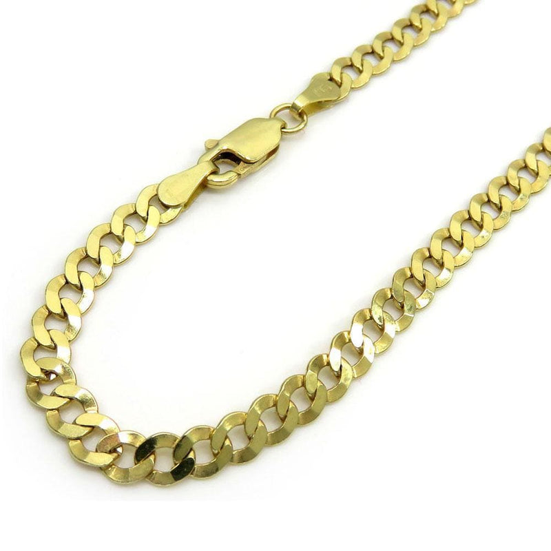 Yellow Gold Cuban Bracelet