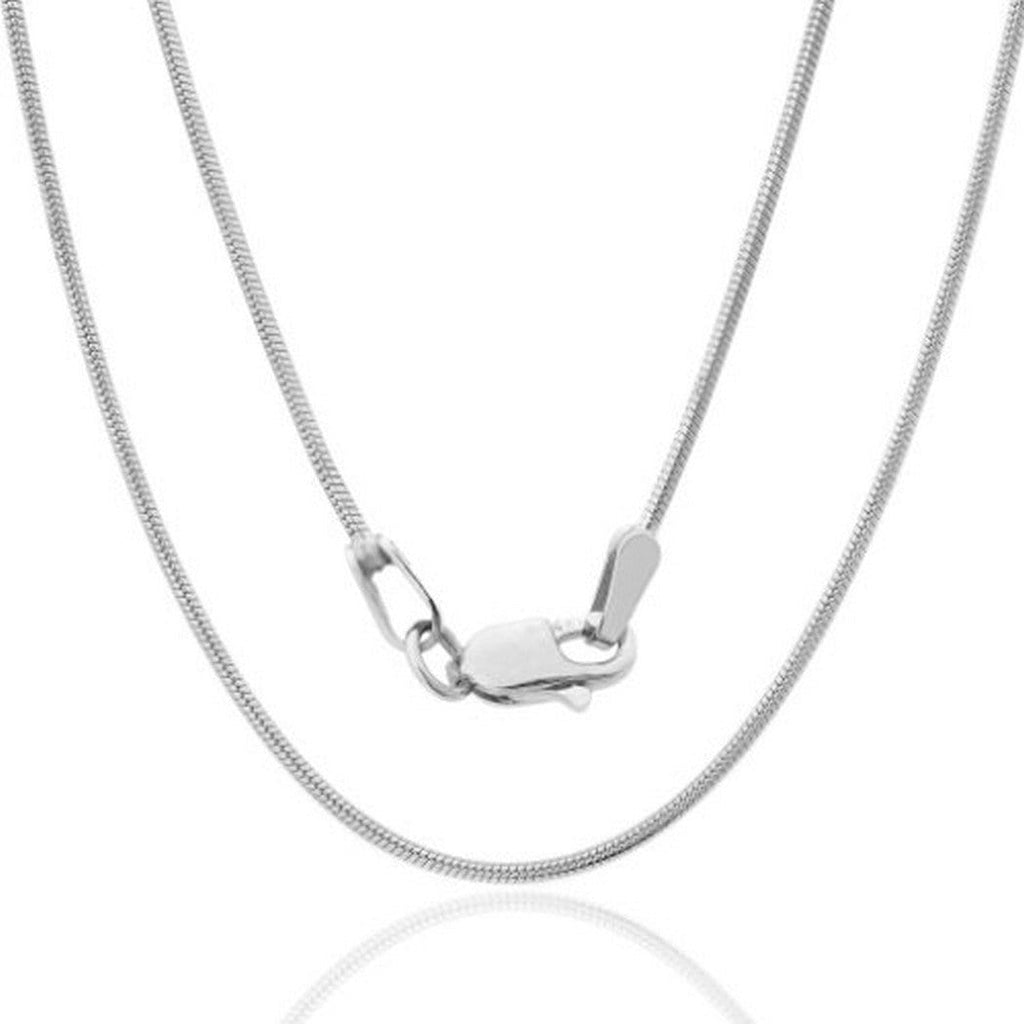 Jawa Jewelers 14K Yellow White Rose Gold Men Womens 2.6MM Valentino Tri Color Necklace Chain Link Lobster Clasp 16-24 Inches