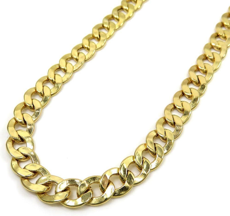 e9224c401 5.5MM 10K Yellow Gold Cuban Link Chain Necklace, Chain, Jawa Jewelers, Jawa  ...