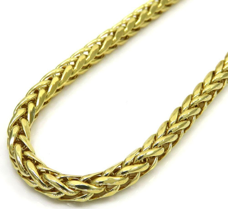 14K Yellow Gold 4.5MM Solid Franco Chain, Chain, JJ-AG, Jawa Jewelers