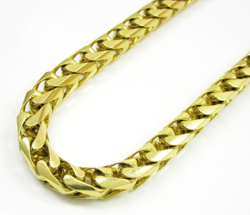 14K Yellow Gold 8.5MM Solid Franco Chain, Chain, JJ-AG, Jawa Jewelers