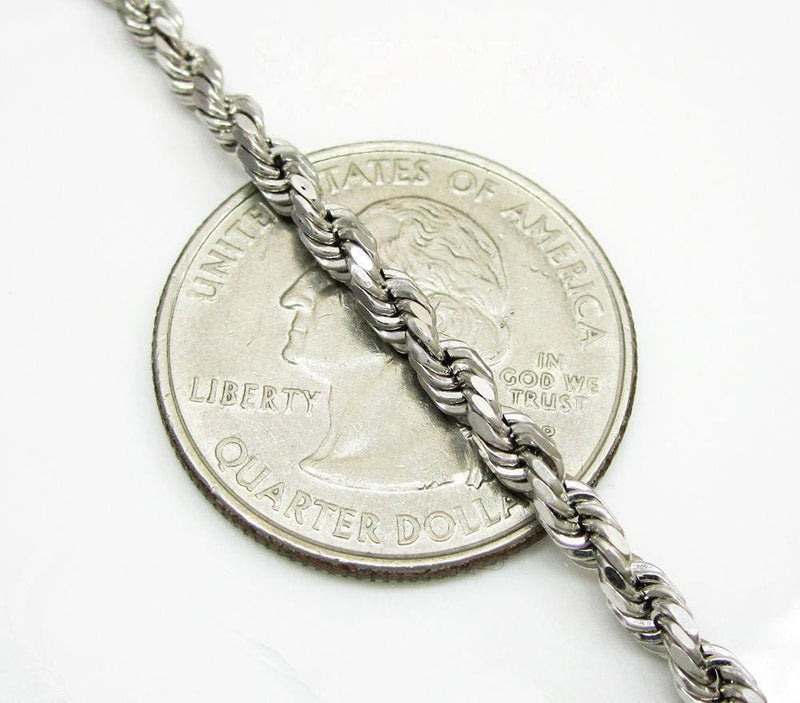 3mm Rope Chain Necklace