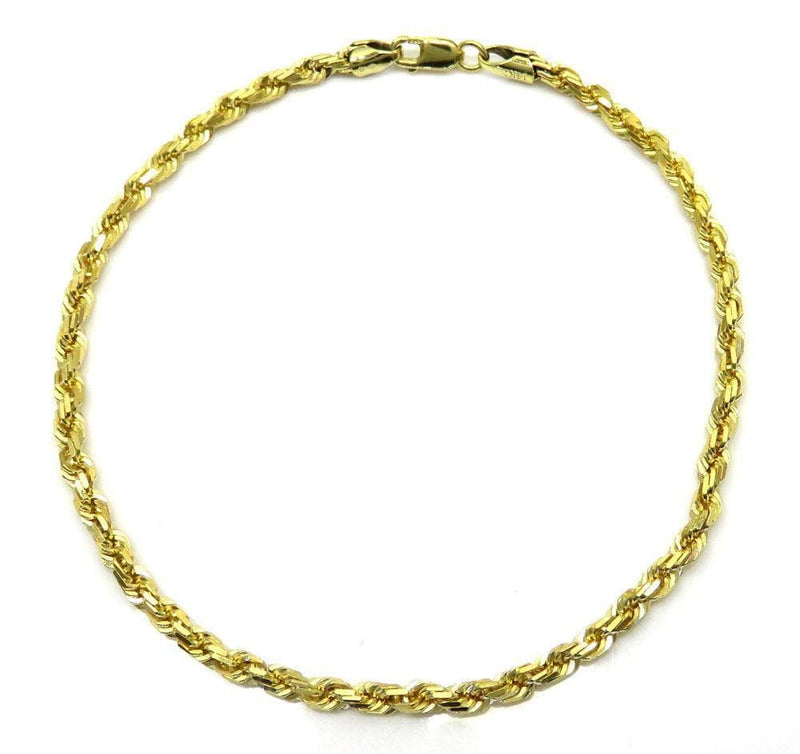 gold Rope Chain Bracelet