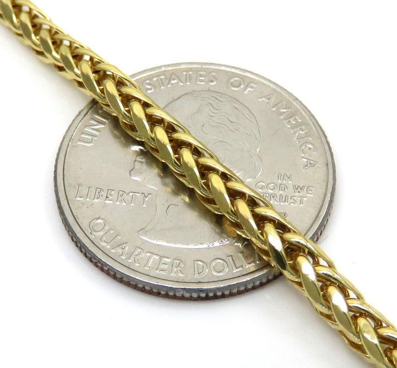 3.5MM gold franco chain