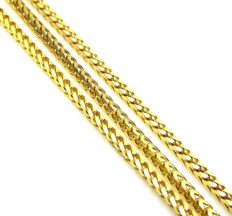 10K Yellow Gold 1.5MM Diamond Cut Franco Chain, Chain, JJ-AG, Jawa Jewelers