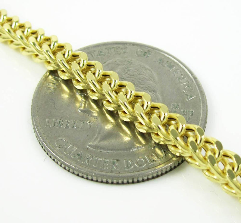 4.5 mm gold chain