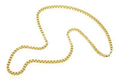 "10K Yellow Gold 5.5MM Alexander Chain Necklace 20"" - 28"" - Jawa Jewelers"