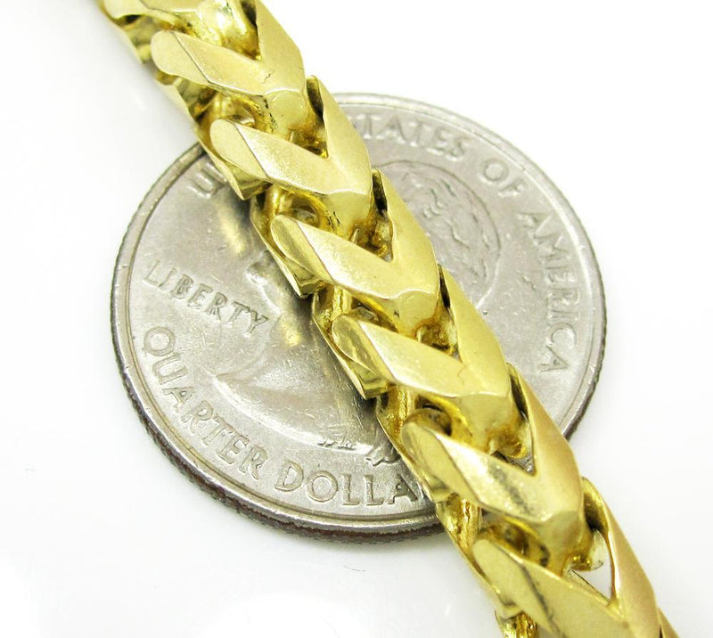 8.5MM solid gold franco chain