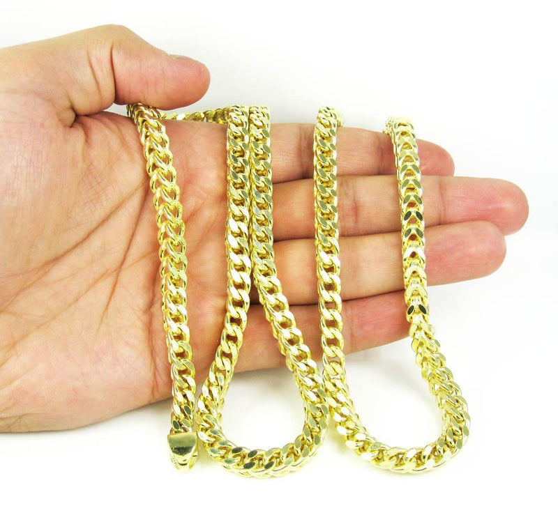 Yellow Gold Franco Chain on hand