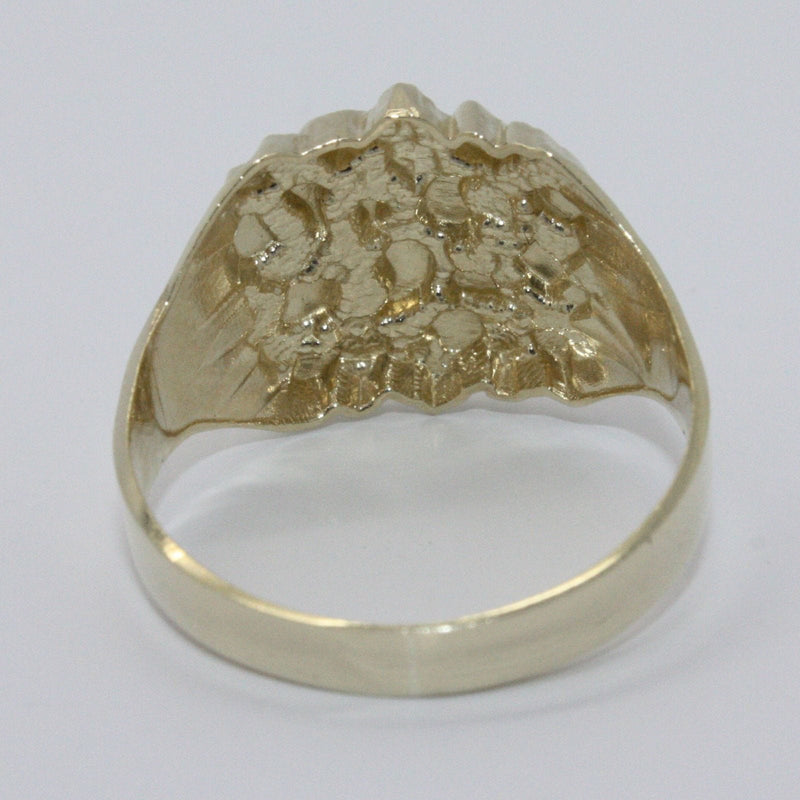 10KT Gold Nugget 4.0 Grams Heavy Ring, Ring, Jawa Jewelers, Jawa Jewelers