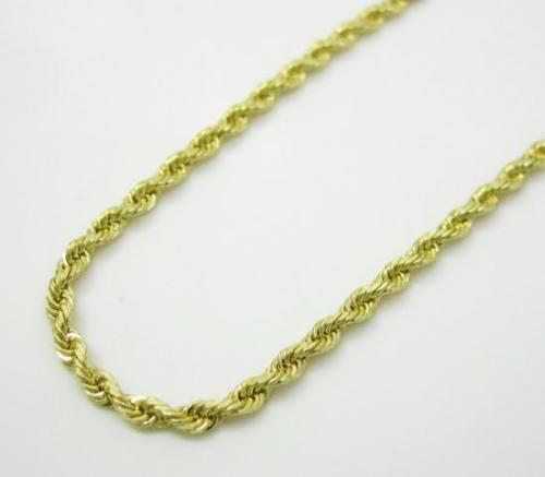 10K Yellow Gold 7MM Hollow Rope Chain Necklace Mens, Chain, JJ-AG, Jawa Jewelers