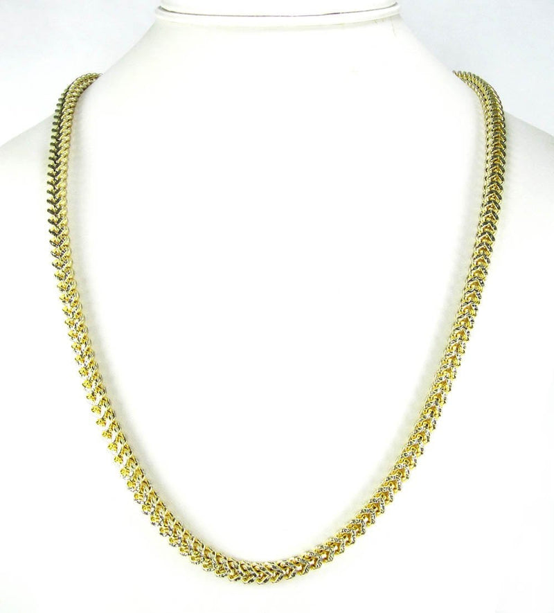 18 inch Yellow Gold Chain