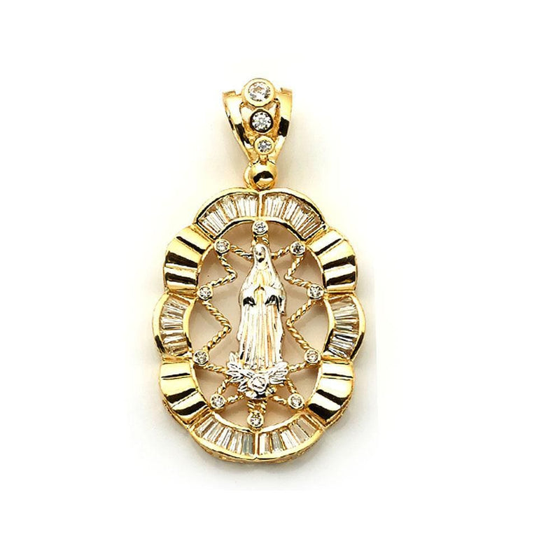 Mens 10K Yellow Gold 18.80 Grams Jesus Fashion Pendant, Pendants, JJ-AG, Jawa Jewelers