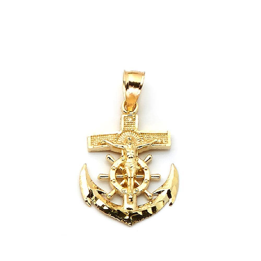 10K Yellow Gold Fashion Pendant 1.70 Grams - Jawa Jewelers