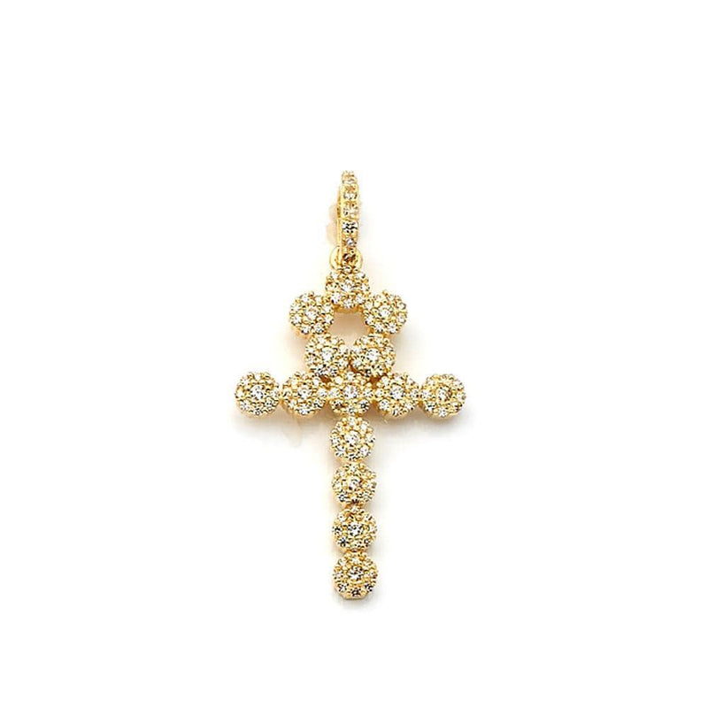 10K Yellow Gold Fashion 3.00 Grams Cross Pendant - Jawa Jewelers