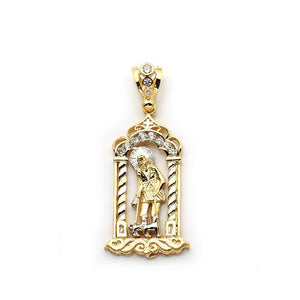 10K Yellow Gold 18.20 Grams Fashion Pendant, Pendants, JJ-AG, Jawa Jewelers