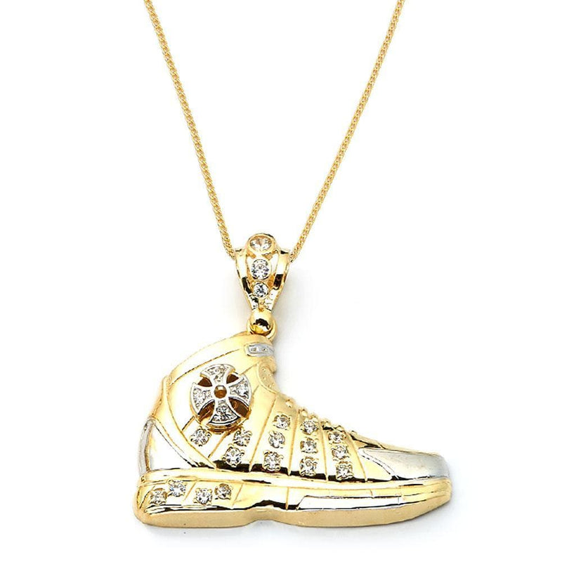 10K Yellow Gold 12.10 Grams Shoe Fashion Pendant - Jawa Jewelers