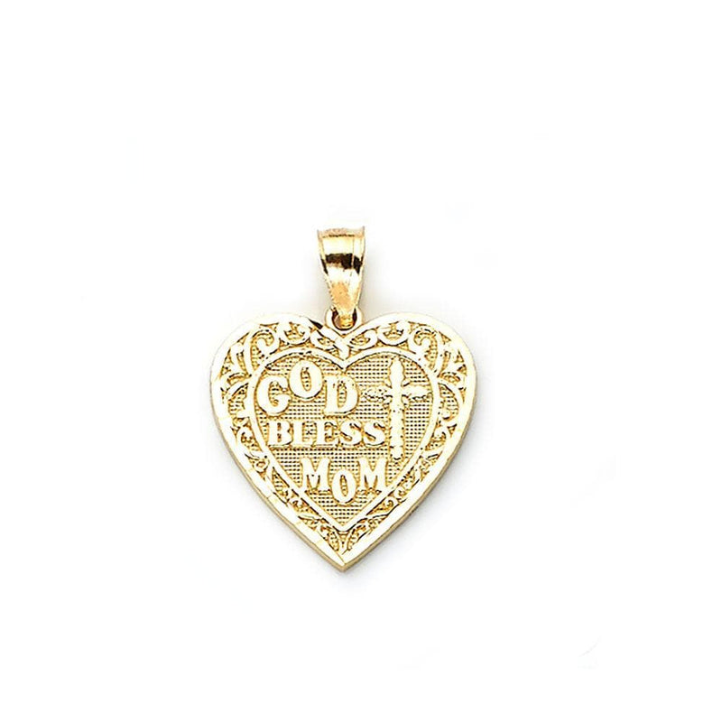10K Yellow Gold  Gift Fashion Pendant 2.00 Grams - Jawa Jewelers