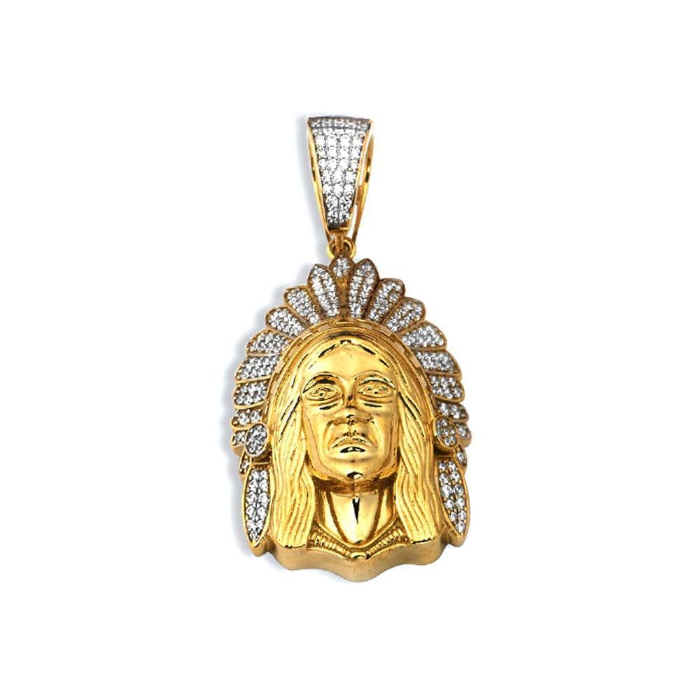 10K Yellow Gold 30.40 Grams Fashion Pendent, Pendants, JJ-AG, Jawa Jewelers