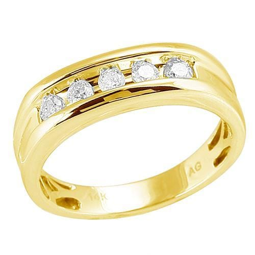 14K Gold 0.50CTW Diamond Mens Ring Size 10, Ring, JJ-AG, Jawa Jewelers