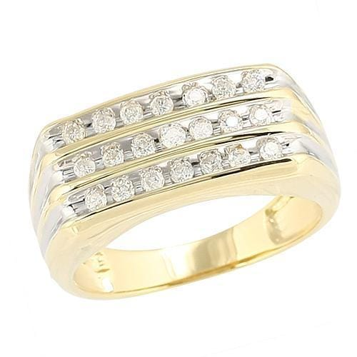 10K Gold 0.50CTW Diamond Men's Ring Size10, Ring, JJ-AG, Jawa Jewelers