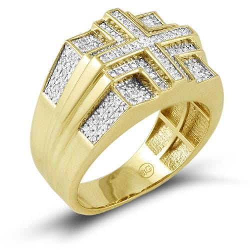 10K Gold 0.50CTW Diamond Men's Ring Size 10, Ring, JJ-AG, Jawa Jewelers