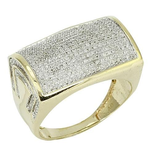 10K Gold 0.75CTW Diamond Mens Ring Size 10, Ring, JJ-AG, Jawa Jewelers