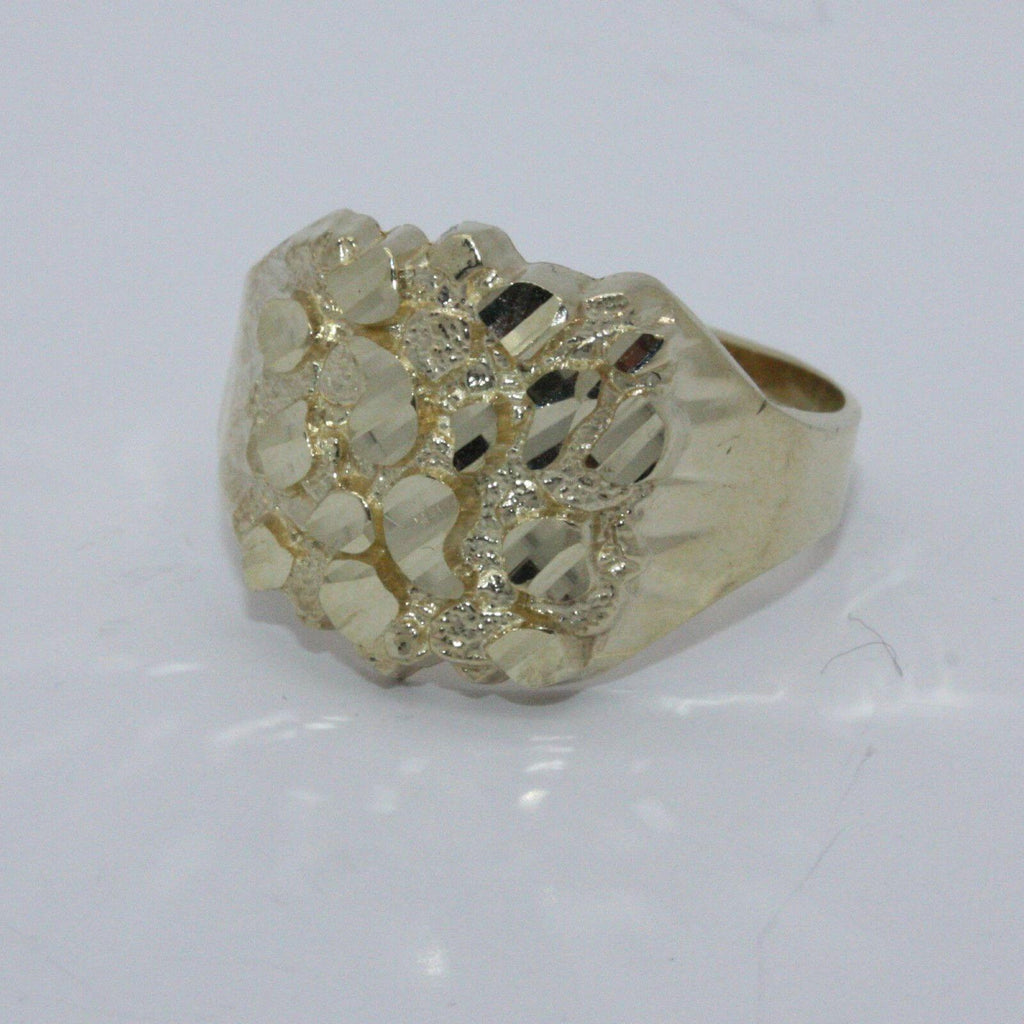 10KT Gold Nugget 4.0 Grams Heavy Ring
