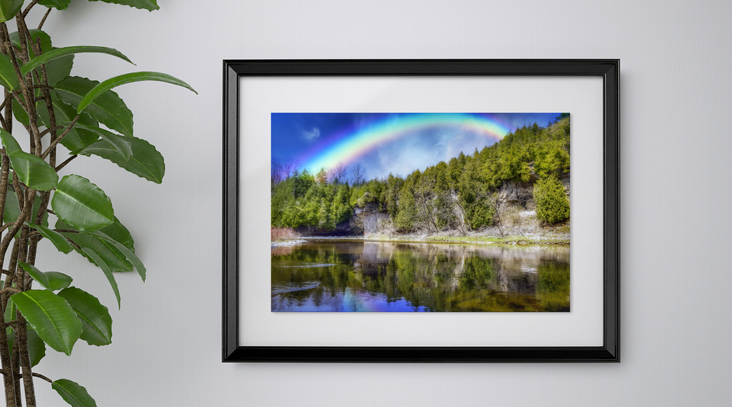 Rainbow over Lovers Leap - Print