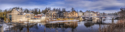 Winter Elora Panoramic