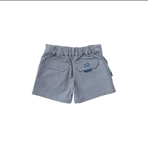 Prodoh kids performance pocket short igneous gray