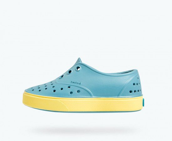 Native shoes miller fuji blue gone bananas yellow