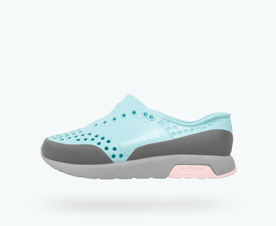 native shoes Lennox Piedmonth Blue/ pigeon gray/ milk pink/ Dublin block