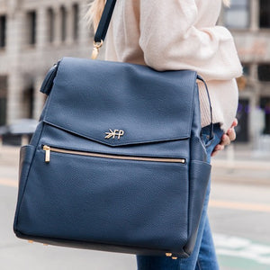 Freshly Picked Diaper Bag backpack navy (boutique exclusive)