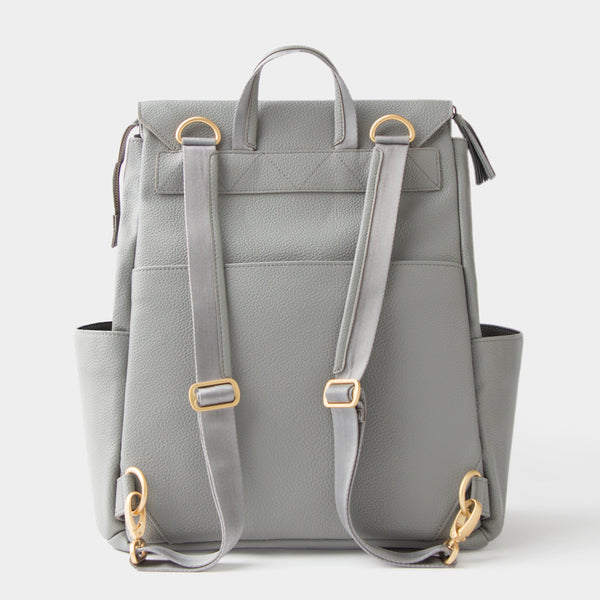 Freshly Picked Diaper Bag backpack stone gray