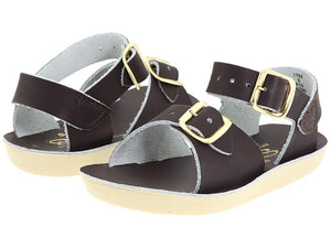 Sun San Surfer Saltwater Sandals Chocolate