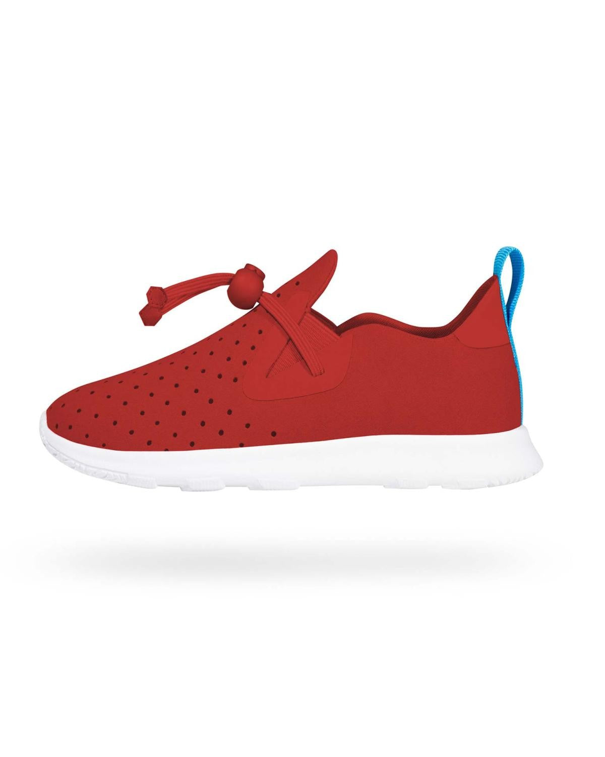 Native Shoes Apollo Mocc torch red