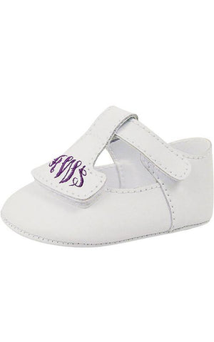 Baby Deer T strap monogram shoes (includes monogram)