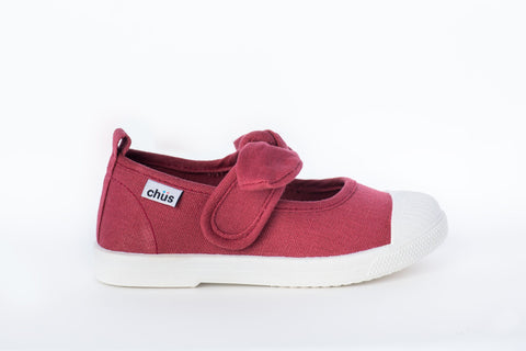 Chus shoes Athena Burgundy maroon bourdeaux