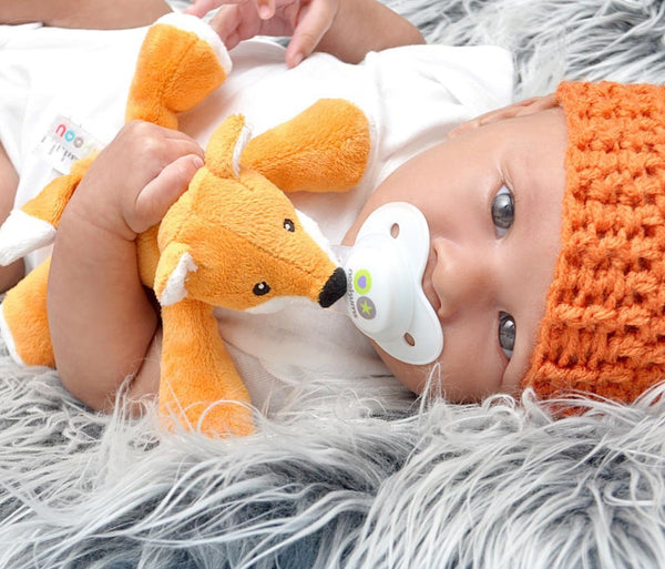 Nookums Paci Plush FRECKLES FOX SHAKIES